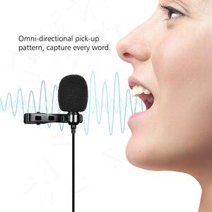 Image 5 - Andoer AD M1 Omni directional Condenser Karaoke Lavalier Studio Camera Microphone with Foam Windscreen for iPhone Smartphone