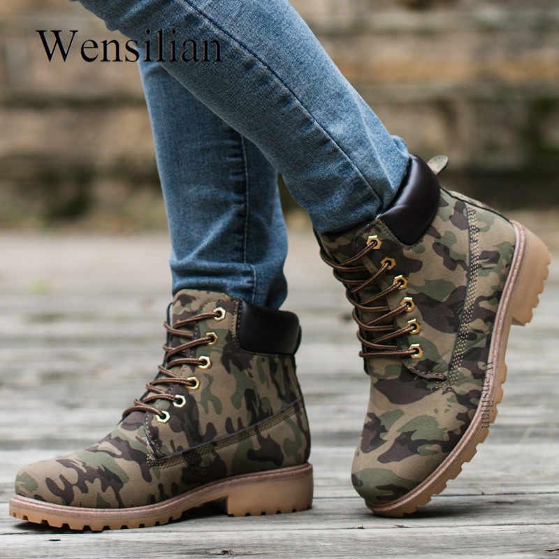 Mùa Đông Ủng Nữ Buộc Dây Giày Lông Thú Sang Trọng Giày Đen Nền Tảng Giày Cho Nữ Chaussures Femme