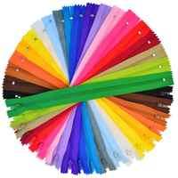100 stück Nylon Spule Reißverschlüsse, Bantoye 8 Zoll Bunte Sewing Reiß Liefert für Schneider Sewing Handwerk, 20 verschiedene Farben