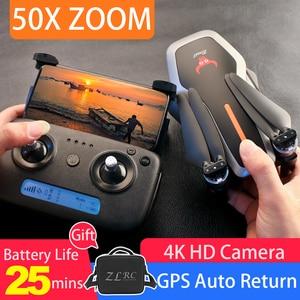 Image 1 - Mini drone SG906/SG906 PRO GPS Brushless 4K Drone con la Macchina Fotografica 5G Wifi FPV giocattoli telecomando Pieghevole volo 25min RC Drone Quadcopter
