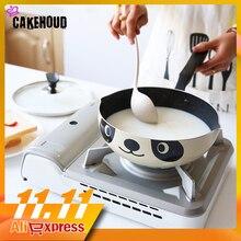 CAKEHOUD marmite pour Panda, 20/24/26cm, cuisinière à Induction universelle antiadhésive en aluminium, Style japonais, en pierres