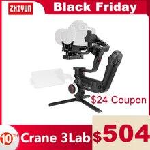 ZHIYUN Official Crane 3 LAB 3 축 핸드 헬드 짐벌 무선 1080P FHD 이미지 전송 카메라 안정제 DSLR VS 크레인 3S