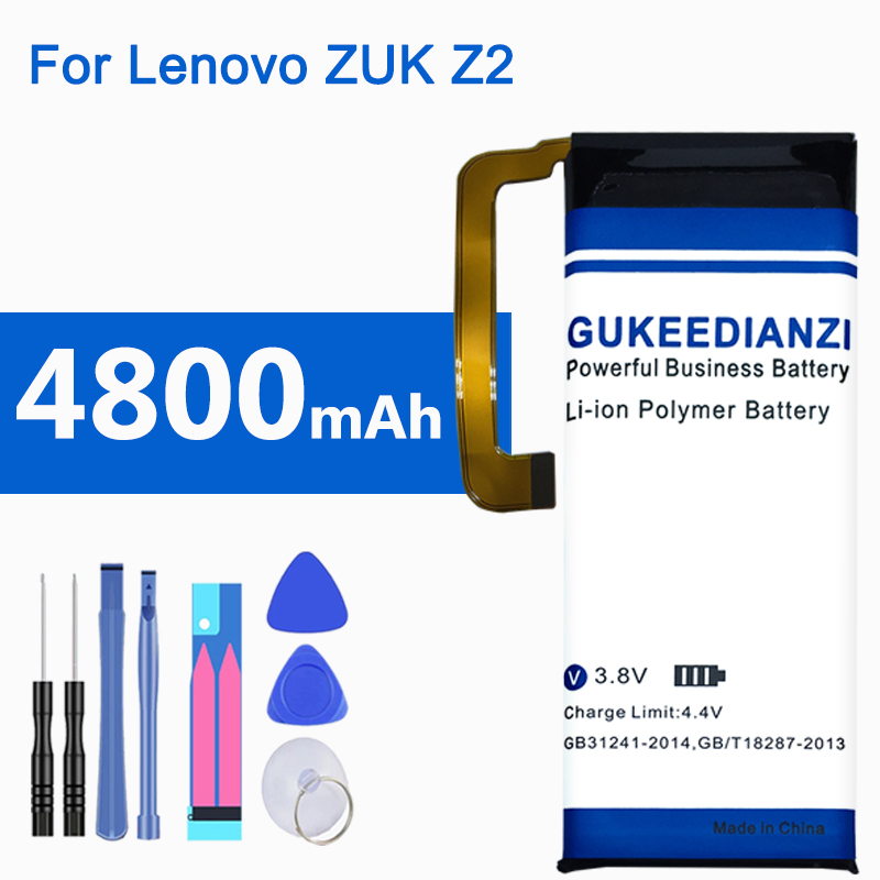 GUKEEDIANZI BL268 4800mAh Battery Phone Strong Endurance Replacement Batteries BL268 For Lenovo ZUK Z2 Z2131 image