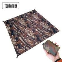 Топ lander открытый карман туристический коврик камуфляж Водонепроницаемый
