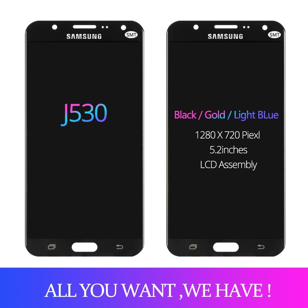 5 2 LCD For SAMSUNG GALAXY j5 2017 J530 J530F SM J530F LCD Display touch Screen 5.2''LCD For SAMSUNG GALAXY j5 2017 J530 J530F SM-J530F LCD Display touch Screen Digitizer For Samsung J5 Pro Adjustable Display