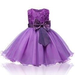 Verão 2-12 meninas brilho vestido das crianças elegante rosa fofo flor menina vestido de festa bonito vestido de princesa