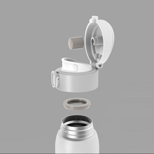 Image 4 - Original Youpin VIOMI Stainless Steel Vacuum 460ml&300ml 24 Hours Flask Water Smart Bottle Thermos Single Hand ON
