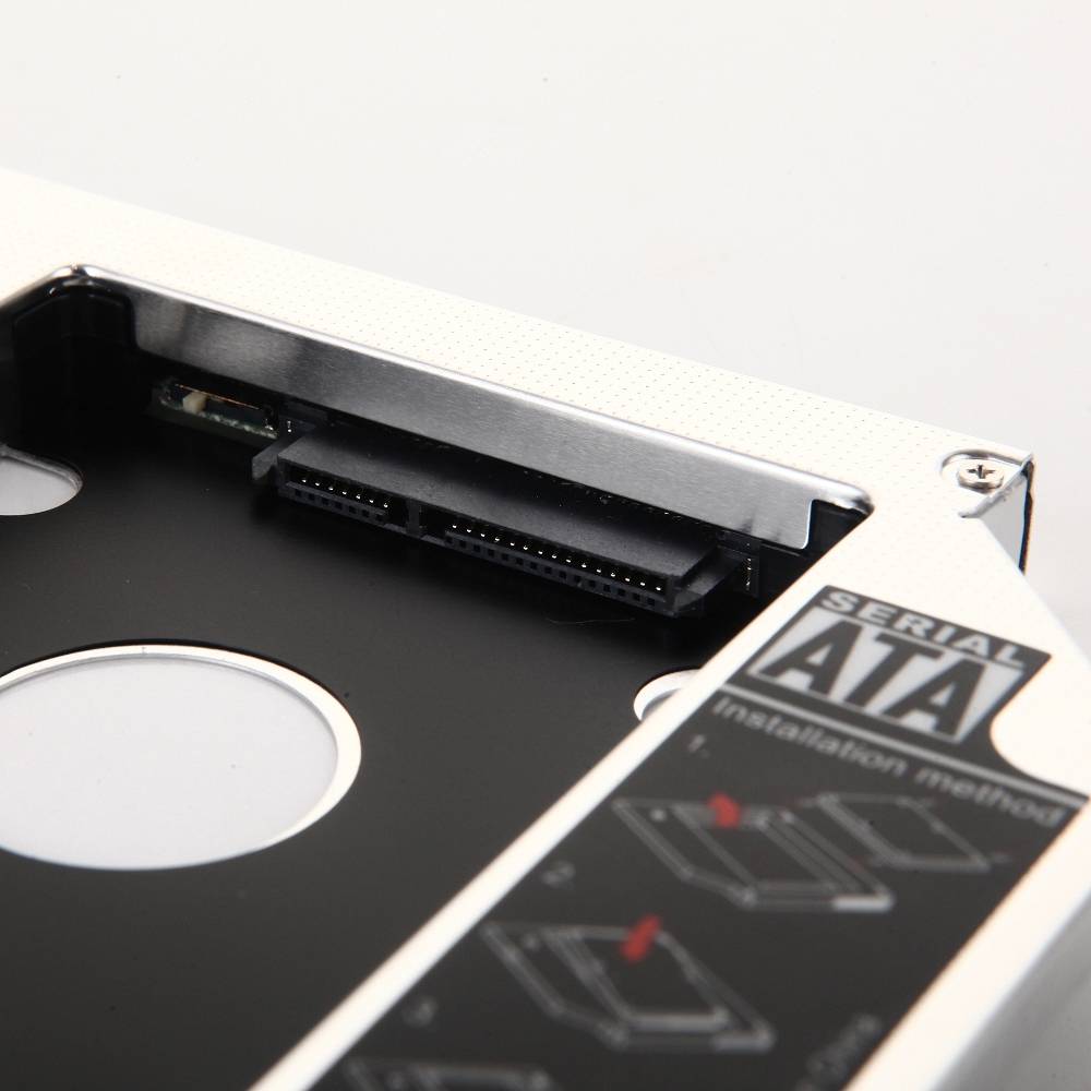 DY-tech 2nd Hard Drive HDD SSD Caddy Adapter for Toshiba Satellite L870 L870D L875 L875D L870-160