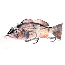 Electric Lures Robotic Swimming Fish LED Light Wobbler Fishing LED Lures Tackles Artificial Electric Lure Wobblers For Pike