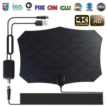 Цифровая HDTV антенна ТВ антенна внутренний спутниковый приемник DVB-T2 isdb-tb свободные каналы спутниковая антенна с усилителем антенны