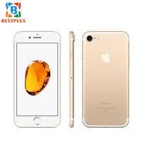 "99% novo global apple iphone 7 a1778 lte celular telefone 4.7 ""2 gb ram 32 gb/128 gb/256 gb rom impressão digital nfc ip67 telefone à prova dip67 água"