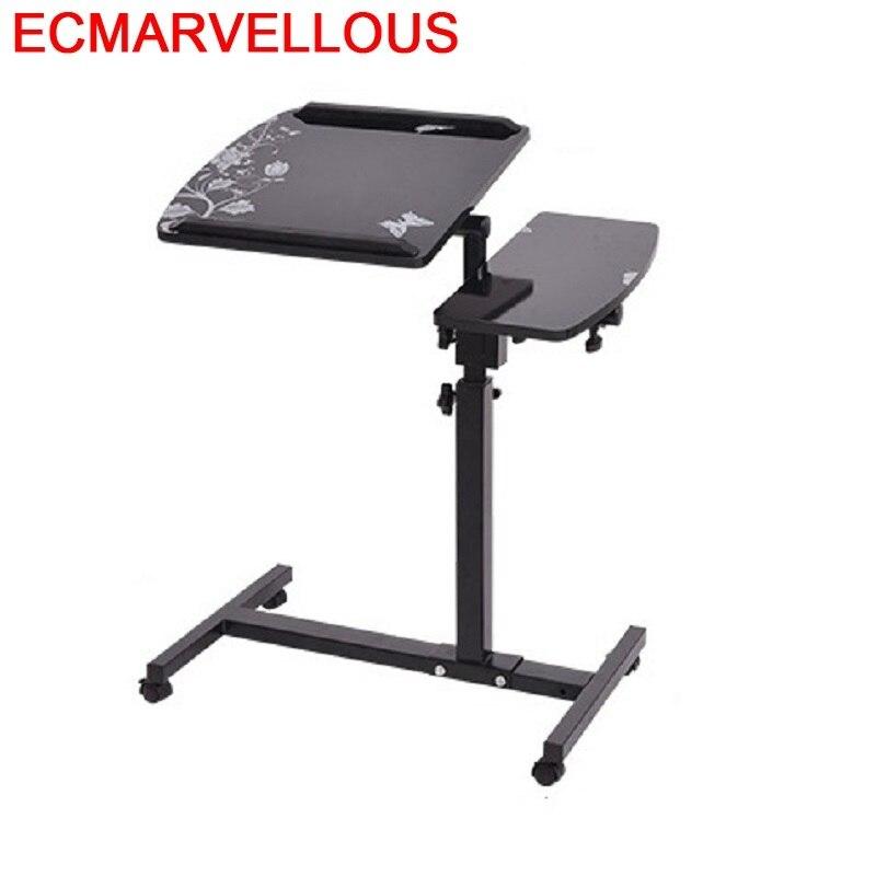 Office Furniture Scrivania Ufficio Bed Escritorio De Oficina Adjustable Tablo Bedside Stand Laptop Study Desk Computer Table