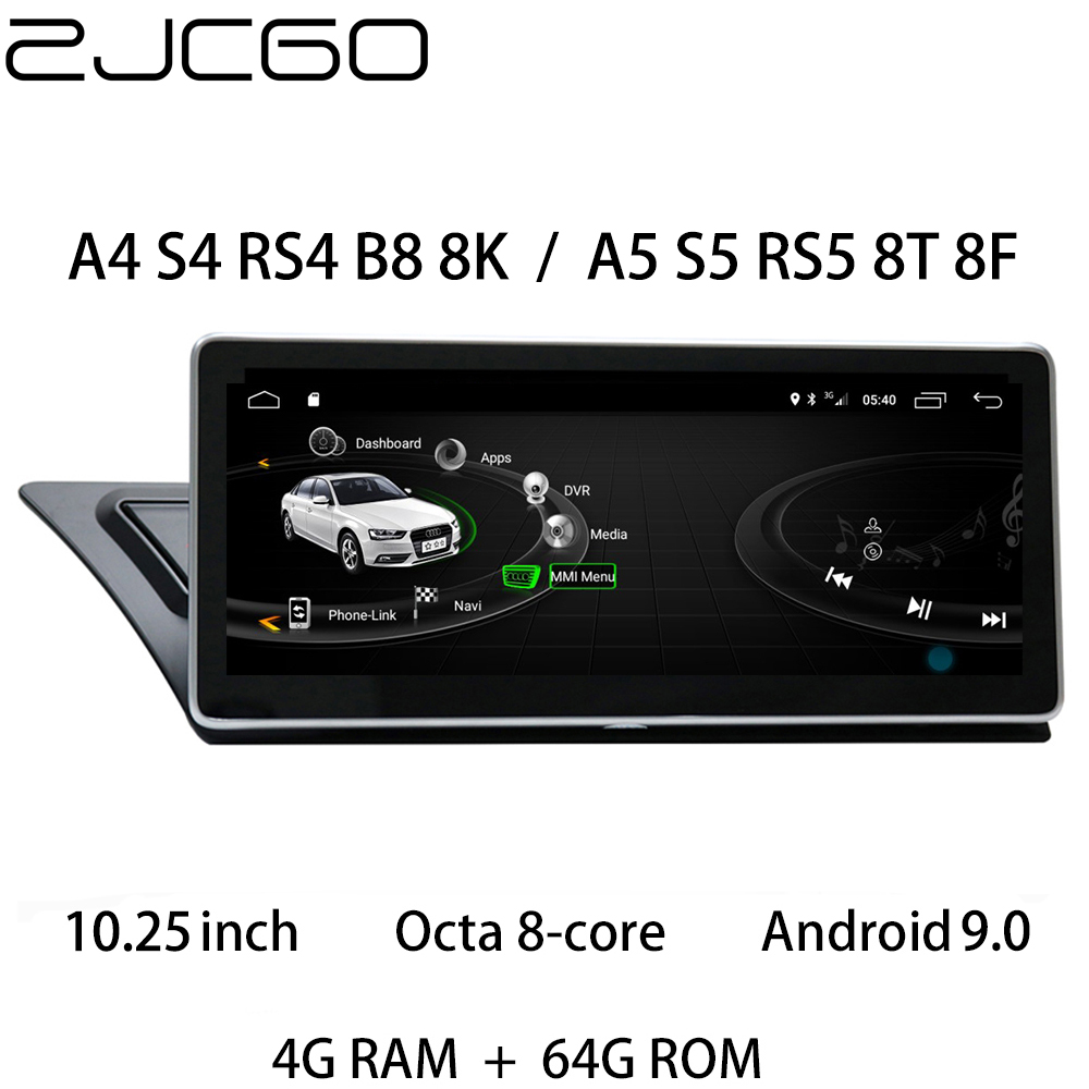 Car Multimedia Player Stereo GPS DVD Radio Navigation Android Screen MMI MIB for <font><b>Audi</b></font> <font><b>A4</b></font> S4 RS4 S5 RS5 A5 B8 8K 8T 8F 2007~2016 image