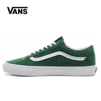 цена Original Vans Old Skool Low Shoes Men Women Sneakers Unisex Skateboarding Vans Shoes VN0A4BV5V76 онлайн в 2017 году