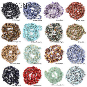 Gravel Beads Jewelry Diy Bracelet Agates Irregular Natural-Mix India for Making-3-5-8-12mm