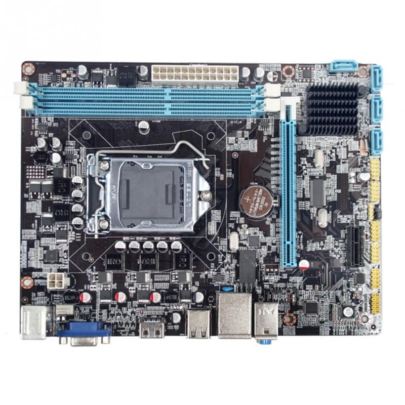 <font><b>LGA1156</b></font> Motherboard Supports I3 I5 <font><b>I7</b></font> CPU Controller Replacement Control Board Professional Stable Desktop Computer H55 image