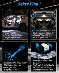 Image 4 - Seker Canbus עבור וולוו V50 V60 V70 XC60 XC70 XC90 S40 S60 S70 S80 C30 C70 LED פנים כיפת מפה תא מטען Footwell דלת ערכת אור