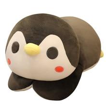Pingouin en peluche, jouets en peluche, dessin animé, animaux, poupée à la mode pour enfants, mignon, cadeau d'anniversaire de noël pour bébés, nouvelle collection