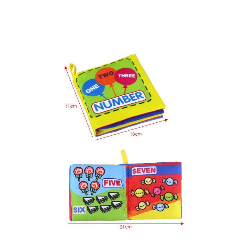 ของเล่นเด็ก Soft Rattle หนังสือเพื่อการศึกษาทารกรถเข็นเด็กของเล่นทารกแรกเกิดเตียงเด็กของเล่น 0-36M