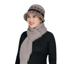 2020 вязаная шерстяная шапка из кроличьего меха для женщин среднего