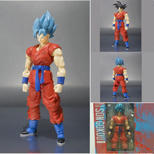 Shf Dragon Ball Z DBZ Goku SSJ Ultimate Fighter Anime 3 Super Saiyan Vegetto PVC Brinquedos Figura de Ação Collectible Figurals(China)