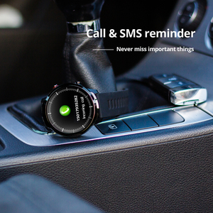 Image 3 - S10 Full touch Smart Orologio da Uomo Impermeabile di Sport Orologio della Frequenza Cardiaca Monitor Previsioni Meteo Smartwatch per IOS Android phone