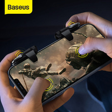 Baseus PUBG Mobile Controller Gamepad Joystick For Auto High Frequency Click Joypad Trigger Button L1 R1 Shooter for Android iOS