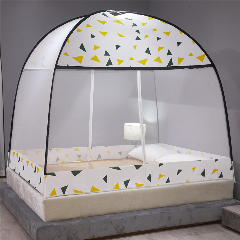 Mosquito Net Installation free Foldable Student Bunk Breathable Netting Tent Mosquito Net Home Decor Portable Automatic