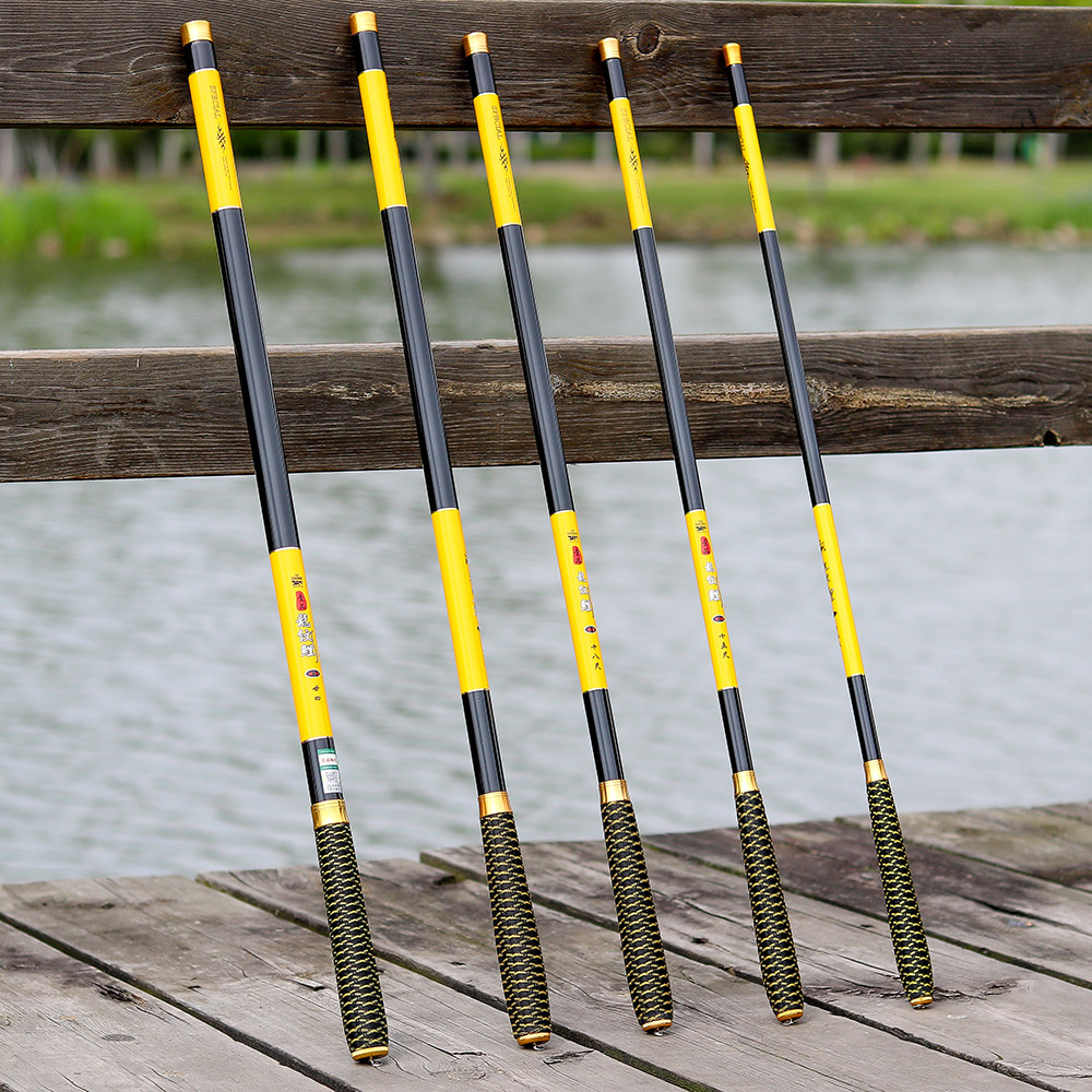 Ultralight and Super Hard Telescopic Fishing Rods with Braided Handle and Rotatable Handle 7