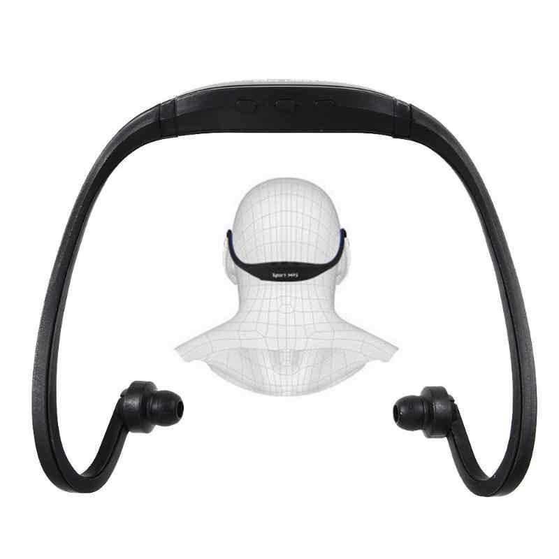 Auriculares deportivos de moda proveedores de auriculares MP3 reproductor de música Micro SD TF auriculares bajos para corredores caminantes