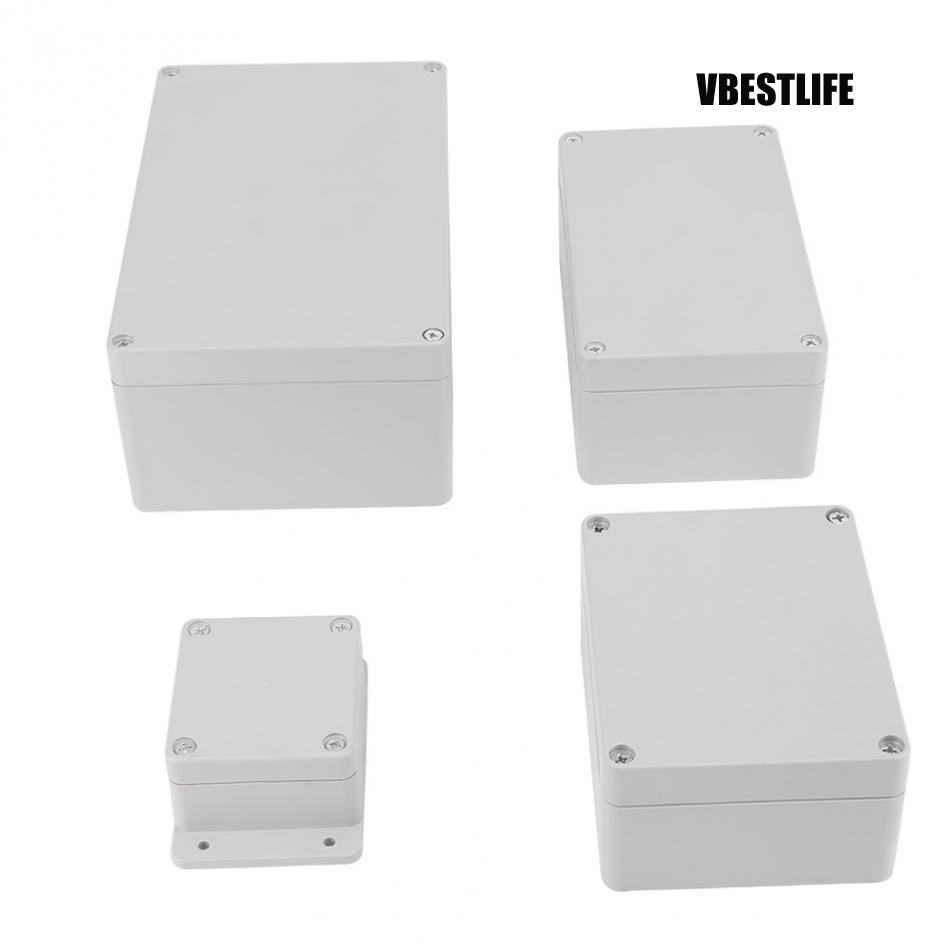 Junction Box Water Resistant Ip65 Abs Electrical Project Box Enclosure Instrument Case Terminal Box Box Enclosure Box Boxbox Electric Aliexpress