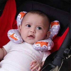 Image 1 - תינוק כרית יילוד עגלת תינוקות שינה כרית ילדים תינוק ראש תמיכה עבור תינוקות Dropshipping תינוק עגלת צוואר כרית