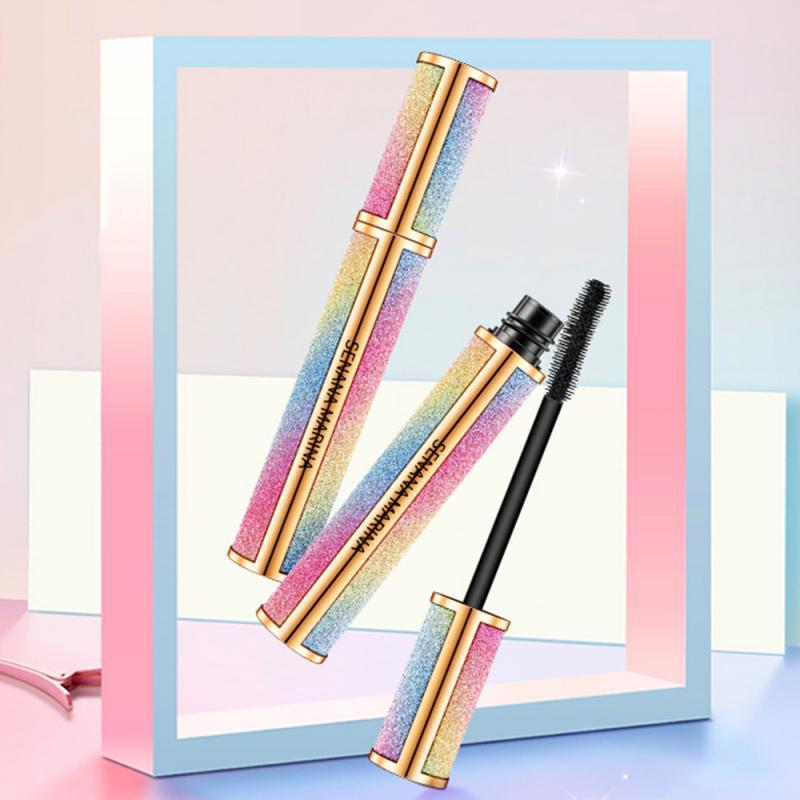 Bright Starry Eyelash Mascara Waterproof Durable Mascara Natural Thick Slender Curling Mascara Eyelash Extend Cosmetics TSLM1