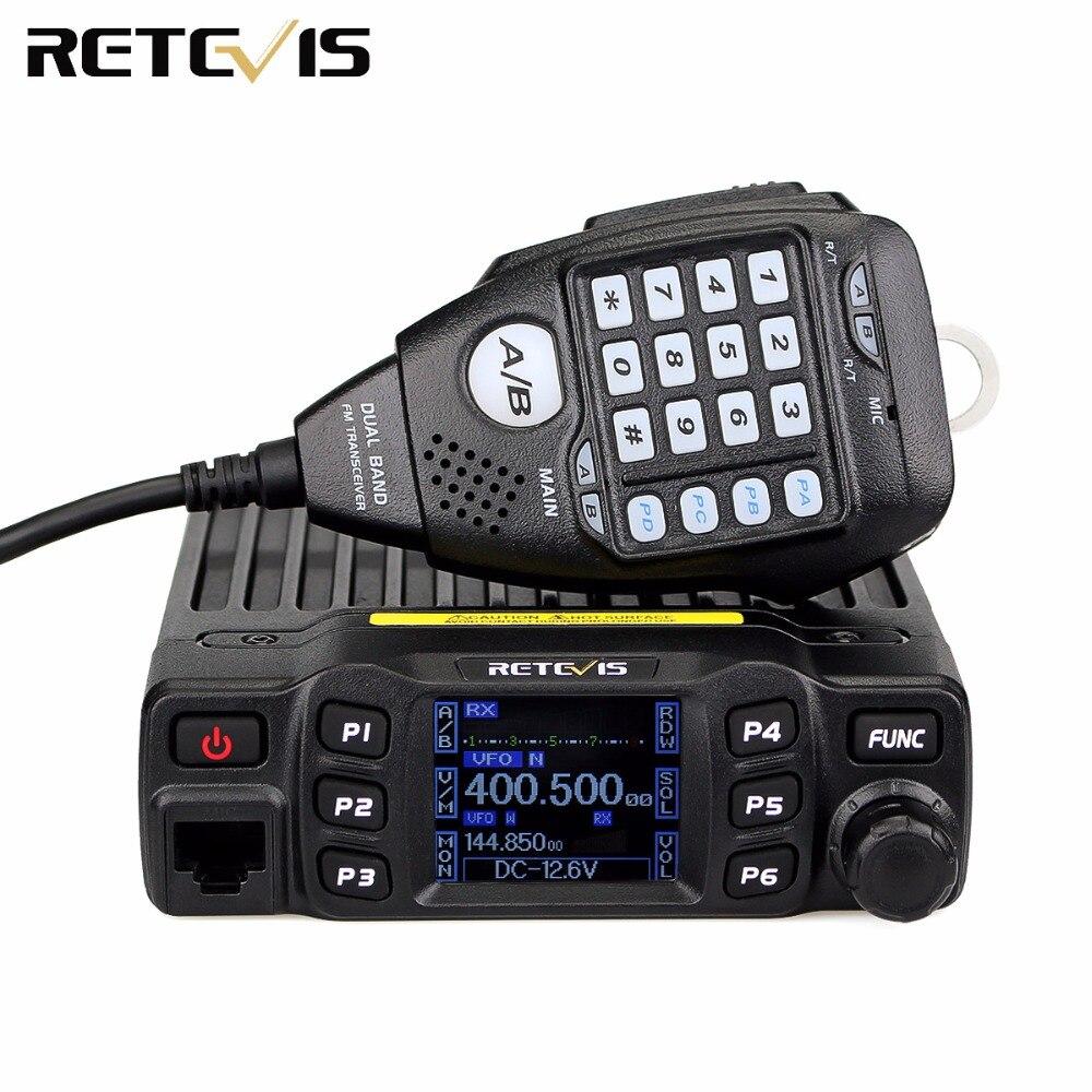 VHF UHF Radio-Station Ham Car-Radio Retevis Rt95 Mobile High-Power 25W Ce CHIRP 200CH