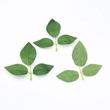 Vases Decorative-Flower Home-Decor Bridal-Accessories Leaf Silk Leaves Artificial-Plants