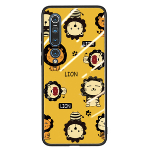 Image 4 - For Xiaomi Mi10 Mi 10 Pro 5G Glass case 6D cute Patterned Luxury Tempered Glasss Silicone Frame Hard Cover For xiaomi mi10 mi 10