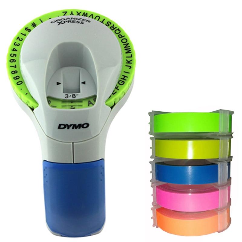 Dymo 12965 3D Embossing Manual Label Maker Dumo12965 Label Printers For 9mm 3D Embossing Label Tapes