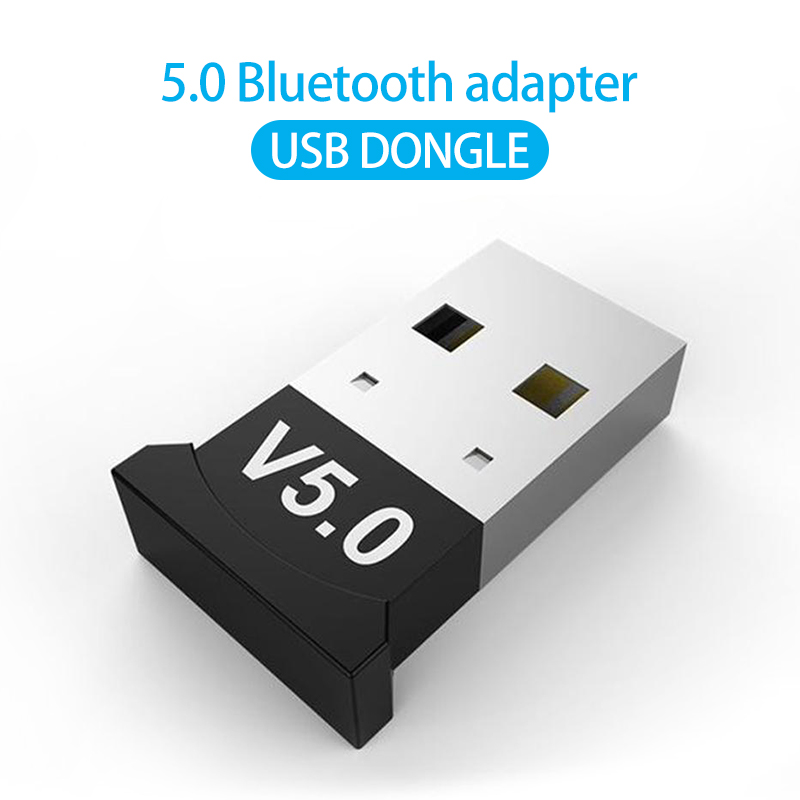 V5.0 USB Беспроводной Bluetooth 5,0 Bluetooth адаптер донгл адаптер/приемник подходит для ответа на звонки и прослушивания музыки передатчик для ПК Беспр...