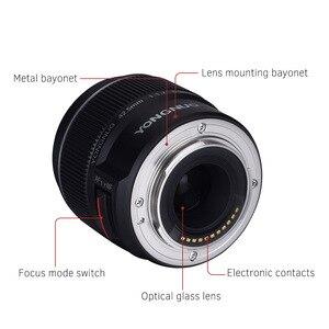 Image 2 - YONGNUO YN 42,5mm F 1,7 M Große Blende AF/MF Objektiv Standard Prime Objektiv für M4/3 berg DSLR Kameras für GF8 GF9 Olympus E PL9