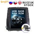 Auto-Multimedia-Player für Toyota Land Cruiser Prado 120 für Lexus GX470 Android 9 0 Auto GPS-Navigation DVD Head Unit tesla Stil