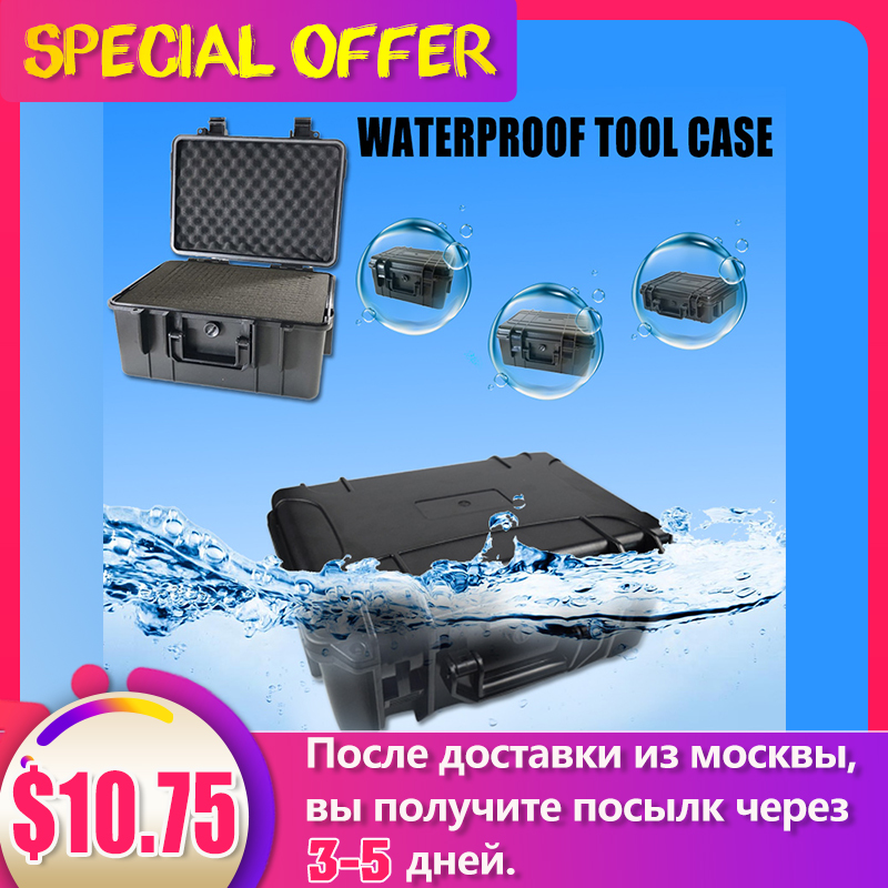 Image 5 - ABS Plastic Tool Case Waterproof Dry Box Safety Equipment Case Portable Outdoor Survival Vehicle Tools Anti collision Containercontainer waterproofcontainer box casecontainer case -