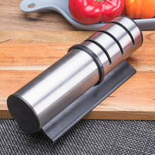 Creative fast household kitchen knife sharpener chef chopping stainless steel fixed angle sharpening stone