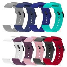 Für amazfit bip strap 20mm Silikon Ersatz Armband Für Xiaomi Huami Amazfit Bip Garminvivoactive3 vivomove Forerunner645