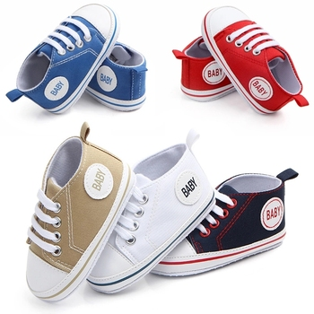 2020 The New  canvas Baby Shoes Soft Sole Girl Boy Casual