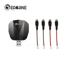 Original Eachine E520 E520S RC Drone Quadcopter Ersatzteile 4-IN-1 USB Ladegerät Lade Box mit 4 pcs Android Adapter Kabel(China)