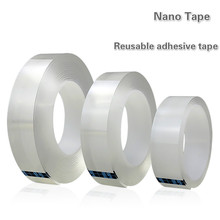 Nano-Tape for Removable Adhesive Washable-Sticker Car Transparent Magic Office Outdoors