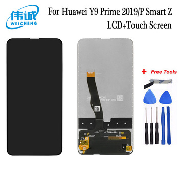 WEICHENG Top Quality  For 6.59 inch  Huawei Y9 Prime / 2019P Smart Z LCD Screen With Touch Screen Display Assembly + tools