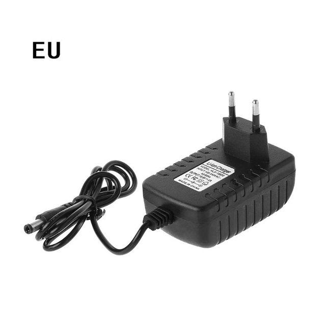 Ab/abd ab/abd Plug 4 S 16.8V 2A AC şarj aleti için 18650 lityum pil 14.4V 4 serisi lityum li ion pil duvar şarj cihazı 110V 245V