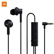 Mi Xiaomi écouteurs antibruit 3.5mm hybride double pilote et écouteurs intra auriculaires L Plug hi res Audio casque de jeu pour Xiami