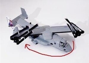 Image 4 - Wltk Thủy Quân Lục Chiến HOA KỲ V22 Osprey Tiltrotor Máy Bay 1/72 Diecast Model